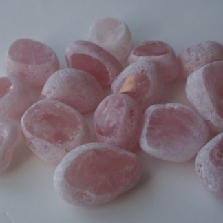Emma eggs en quartz rose