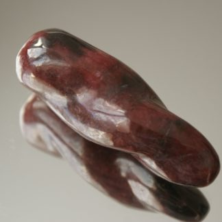 Baguette de massage en rhodonite